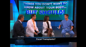 The Doctors show about fecal transplnats