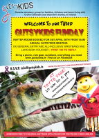 tayto park poster for Gutsykids Funday