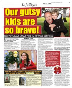 Gutsykids interview in the Star